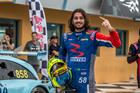 Piloto Joao Rosate garantiu a vitória na segunda corrida na Geral e na PRO (Rodrigo Guimarães)