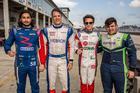 Os quatro pole positions da etapa no Autódromo Internacional de Sebring (EUA) (Rodrigo Guimarães)