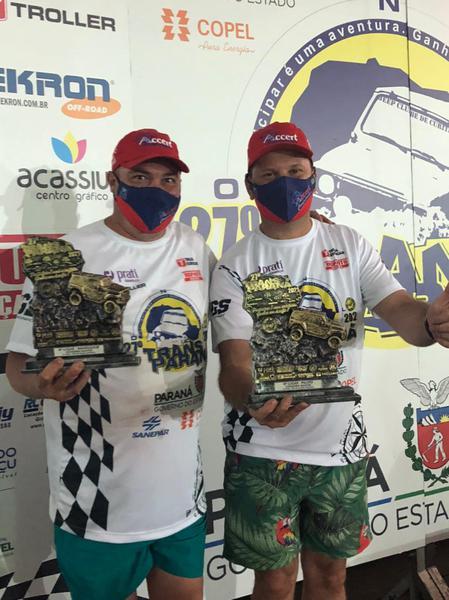 Cristiano Rocha e Roberto Spessatto garantiram a 4ª posição na 1ª etapa (Divulgação)