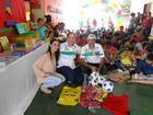 Prefeita Camila com a equipe Ideia Fixa e Kit