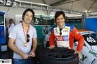 Bruno Alvarenga e o convidado para a próxima etapa Felipa Gama (Foto: Claudio Kolodiziej/Photo Racing)