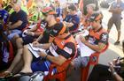 Equipe Taguatur Racing durante briefing do Rally dos Sertões 2017 (Luciano Santos/Sigcom)