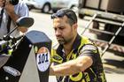 Piloto Geison Belmont, quadriciclo #101 (Luciano Santos/Sigcom)