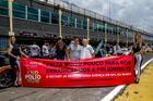 Thiago Marques, organizador da Sprint Race e Rubens Gatti, presidente da (FPrA) (Foto: Rodrigo Guimarães)
