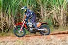 Elias Campideli Folly #07, KTM 350 campeão nas motos (Doni Castilho/DFotos)