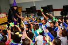 Ação socioeducativa realizada em parceria do Projeto Ideia Fixa e o Rally (Nelson Santos Jr/Photo Action)