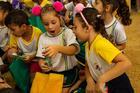 Alunos da rede municipal de ensino de Lençóis Paulista receberam a ação do Rally ()
