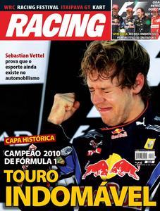 Capa  da  Revistata Racing, edição de novembro