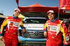 Gustavo Gugelmin (E) e Reinaldo Varela (D) próximos da vitória (Foto: Sanderson Pereira/Divulgação)
