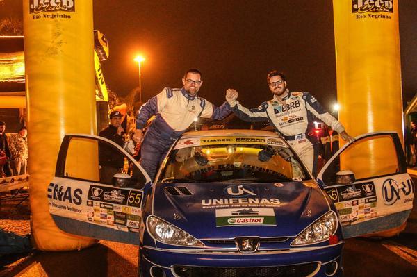 Victor Corrêa e Maicol Souza subiram sete vezes no pódio em oito provas