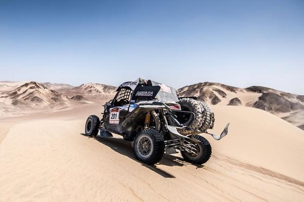 As altas dunas do Peru vão receber o próximo Rally Dakar