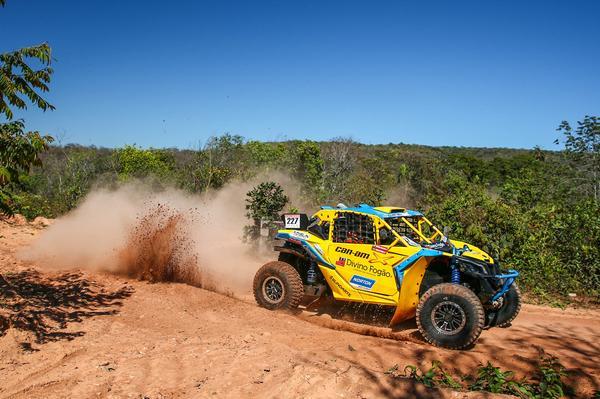 Reinaldo Varela venceu as duas provas de sua estreia no Rally Baja
