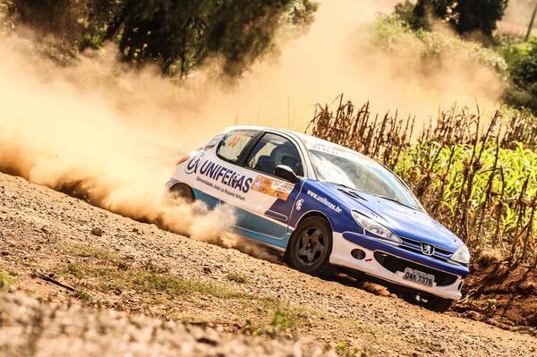 Victor Corrêa e Maicol Souza venceram o Rally de Erechim no ano passado