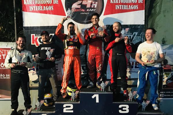 Alberto Otazú venceu pela quinta vez em sete etapas da F-Master