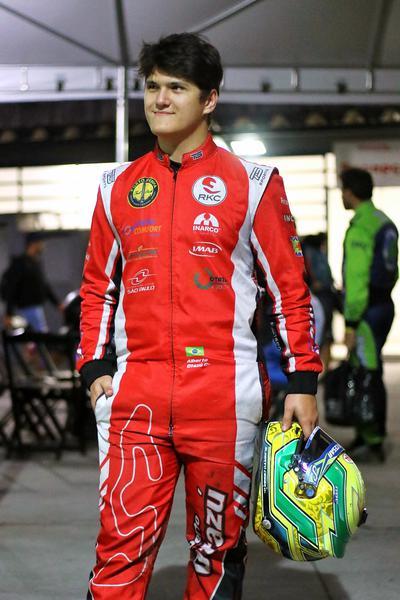Alberto Otazú está pronto para o seu primeiro Brasileiro de Kart Indoor