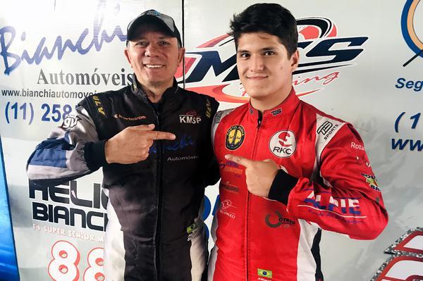 Hélio Bianchi (E) e Alberto Otazú (D) lideram a F-4 Akasp