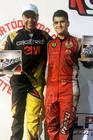 Os vencedores Kleber 'Eletric' Barcellos (E) e Alberto Otazú (D) (Divulgação)