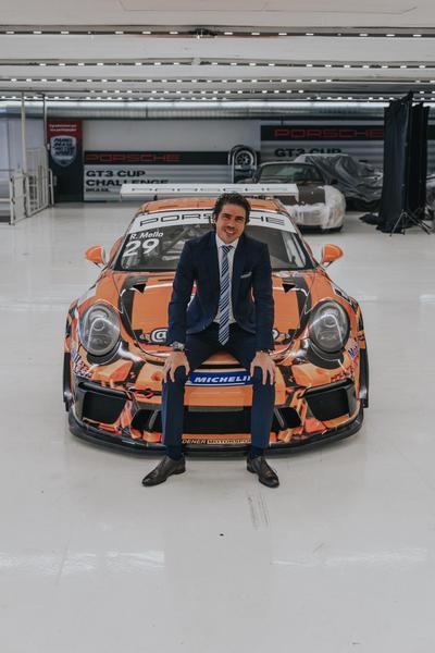Mello e o Porsche LEGO?