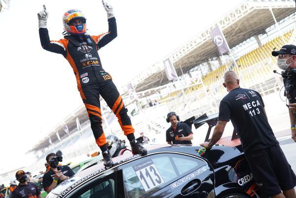 Witold venceu uma das corridas