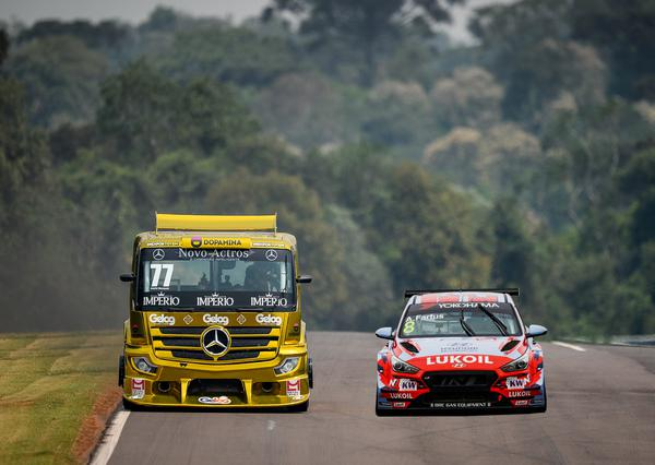 Copa Truck e TCR South America juntos