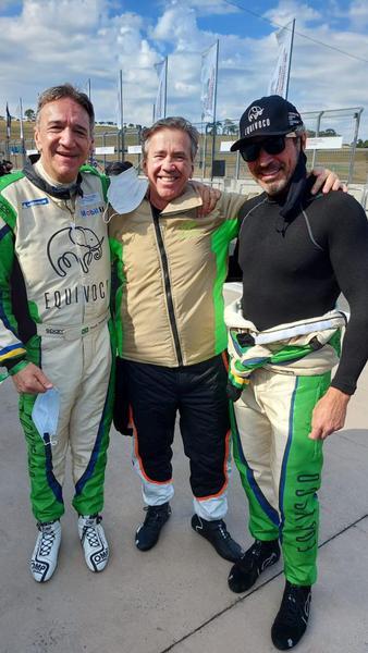Paulo Totaro, Ramon Alcaraz e Marcio Mauro