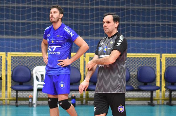 Bruninho com o EMS Taubaté Funvic (Renato Antunes/Maxx Sports Brasil)