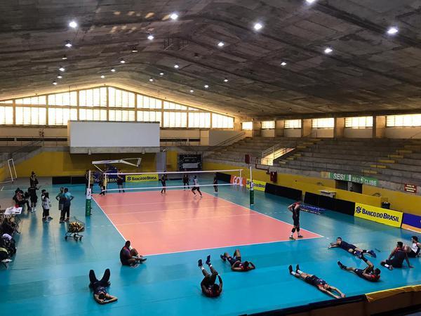 O ginásio Aero/Sesi receberá as partidas da etapa em Natal (RN) (Divulgação/Aeroclube)