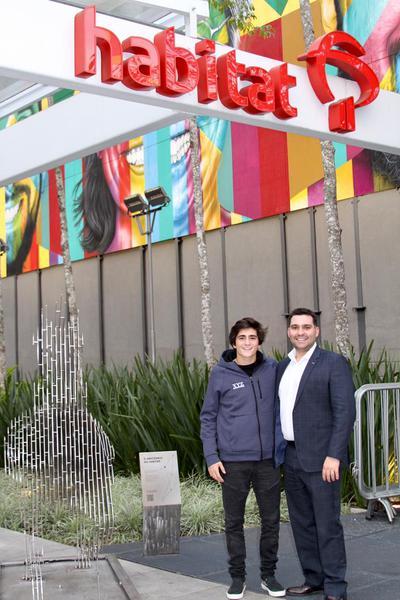 Guilherme Peixoto (à esquerda) ao lado de Alan Cappi, da EXP Ventures