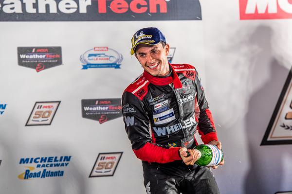 Pipo Derani: vitória no dia do aniversário nas 10H de Petit Le Mans