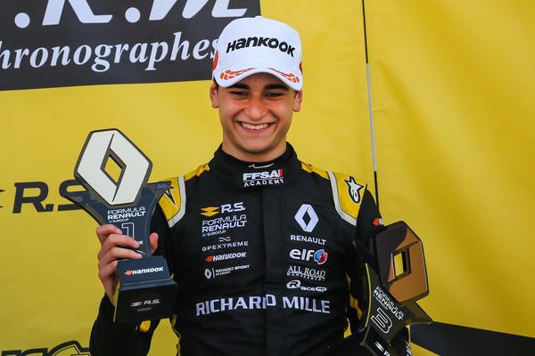Caio Collet durante a temporada deste ano na F-Renault Eurocup