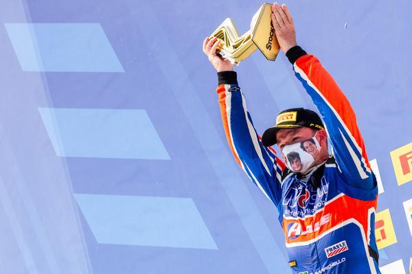 Rubens Barrichello: pódio e liderança
