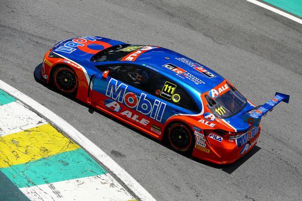 Rubens Barrichello é o sexto na temporada