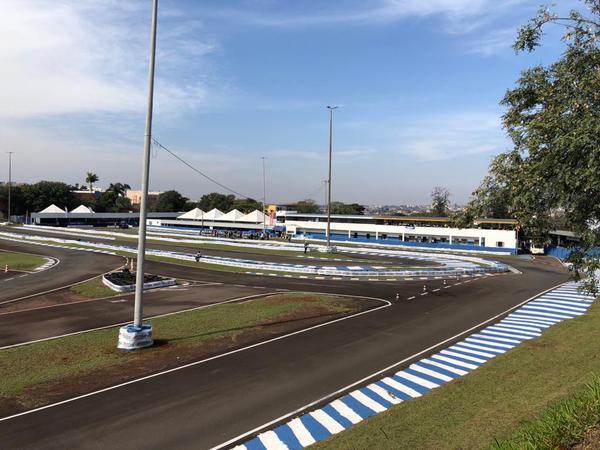 Kartódromo Luigi Borghesi já está praticamente pronto para a competição
