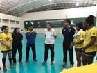 Fase de treinamento Seleção Juvenil e Júnior (Divulgação)