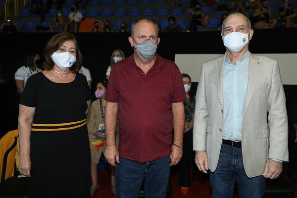 Luciene Resende, Belivaldo Chagas e Paulo Wanderley