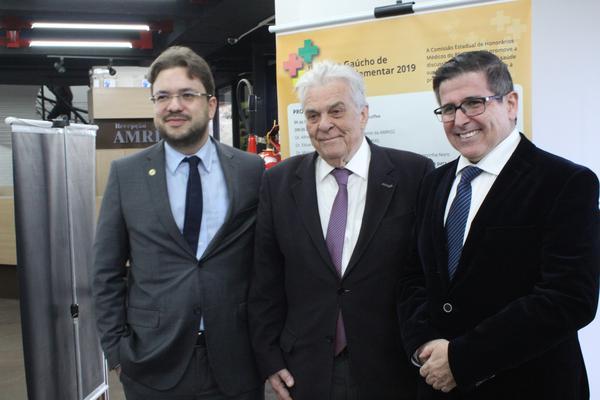 Eduardo Trindade, Alfredo Floro Cantalice Neto e Marcelo Matias