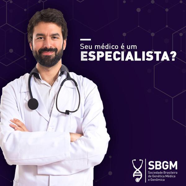 Campanha desenvolvida pela SBGM