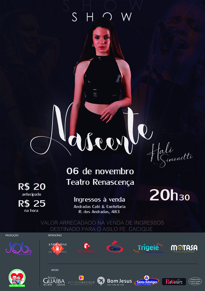 cartaz Show Nascente