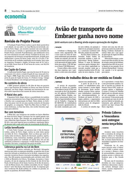 19.11.19 - Jornal do Comercio - Impresso - Asilo-1