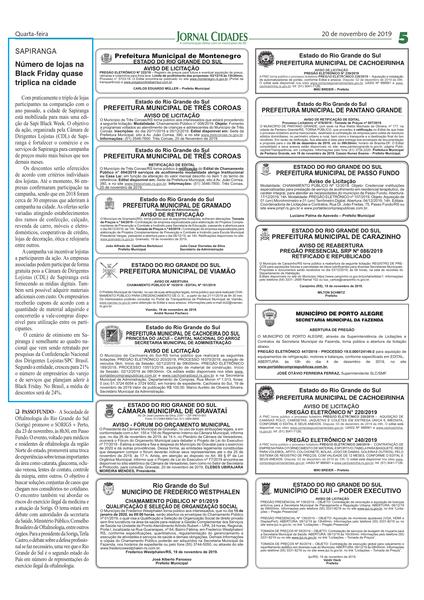 20.11.19 - Jornal do Comércio - CDL Sapiranga-1