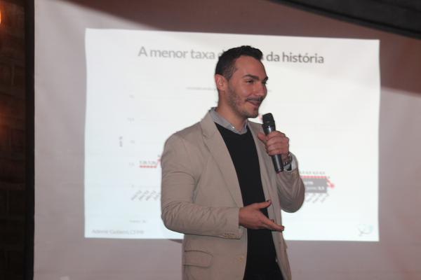Ademir Gutierri salientou a necessidade de criar esta cultura do Invesimento
