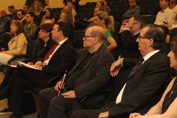 vice-presidente da AMRIGS, Dirceu Rodrigues, prestigiou o evento