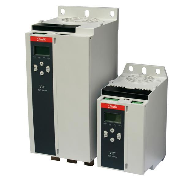 VLT® Soft Starter MCD 600 tem controle adaptativo de partida e parada