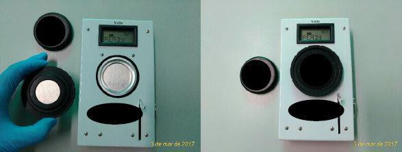 Sistema de detecção composto por uma câmara de íons