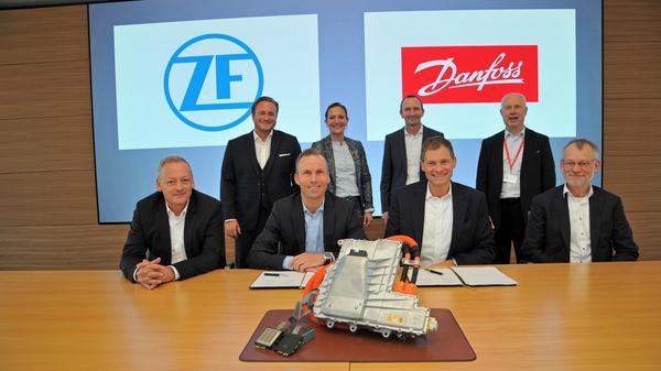 ZF e Danfoss firmam nova parceria para fornecimento de módulos de potência