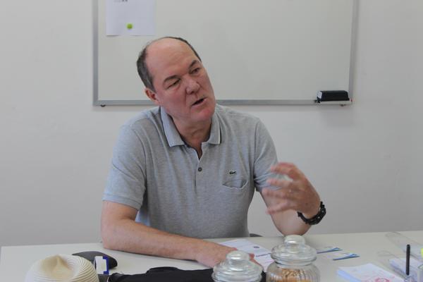 O presidente do CRT-RS, Ricardo Nerbas
