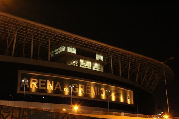 Arena do Grêmio em ação realizada no ano passado