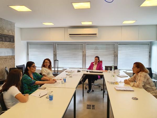 Reunião na sede da SBP em São Paulo