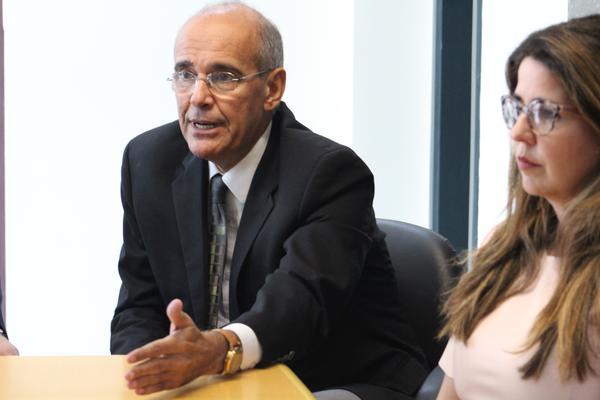 Presidente do CFM, Mauro Luiz de Britto Ribeiro