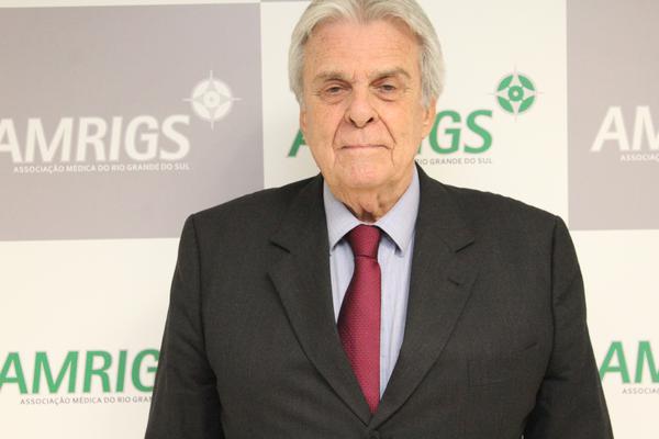 Presidente da AMRIGS, Alfredo Floro Cantalice Neto